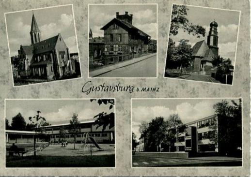 Postkarten Postcards Mainz Gustavsburg Eine Sch Ne